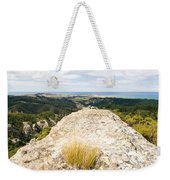 Rocky Outcrops Of Trotters Gorge Otago Nz Weekender Tote Bag