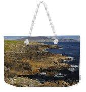Rocky Seashore Weekender Tote Bag