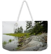 Rocky Shore By The Narrows To Mount Desert Island Weekender Tote Bag