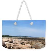 Rocky Shore To Rocky Mountain Weekender Tote Bag