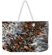 Rocky Shoreline Abstract Weekender Tote Bag