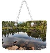 Rocky Shores At Swim Lake Weekender Tote Bag