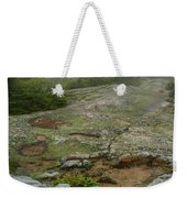 Rocky View From Near The Top Weekender Tote Bag