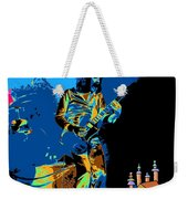 R P  And The Ufo At The Castle Made Of Sand Weekender Tote Bag