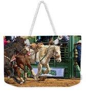 Rodeo Action Weekender Tote Bag