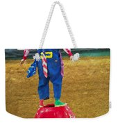 Rodeo Barrel Clown Weekender Tote Bag