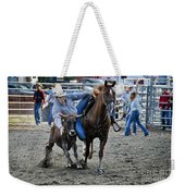 Rodeo Bulldog Weekender Tote Bag