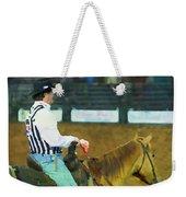 Rodeo Cowboy Referee Weekender Tote Bag