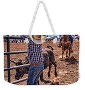 Rodeo Gate Keeper Weekender Tote Bag