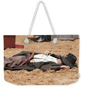 Rodeo Gunslinger Victim Color Weekender Tote Bag