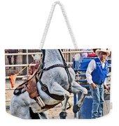 Rodeo Horse Cheers Weekender Tote Bag