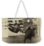 Rodeo Learning To Fly Weekender Tote Bag