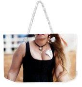 Rodeo Saloon Girl Dancing Weekender Tote Bag
