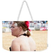 Rodeo Saloon Girl Profile Weekender Tote Bag