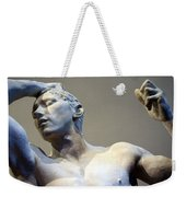 Rodin's The Vanguished Up Close Weekender Tote Bag