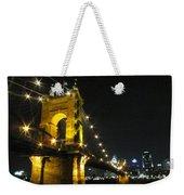 Roebling Bridge II Weekender Tote Bag