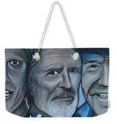 Roger Alan Wade Kris Kristoferson Billy Joe Shaver Weekender Tote Bag