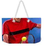 Roger Federer The Swiss Maestro Weekender Tote Bag