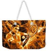 Roger Federer Clay Weekender Tote Bag