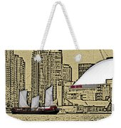 Roger's Centre And Tall Ship Weekender Tote Bag