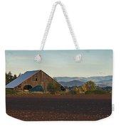 Rogue Valley Barn In Late Afternoon Weekender Tote Bag
