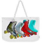 Roller Skates Weekender Tote Bag