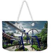 Rollercoaster Amusement Park Ride Weekender Tote Bag