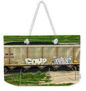 Rolling Art Weekender Tote Bag