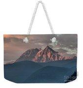 Rolling Hills And Purple Tantalus Peaks Weekender Tote Bag