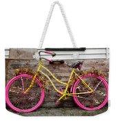 Rolling On Pink Weekender Tote Bag