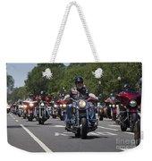 Rolling Thunder Run No3 Weekender Tote Bag
