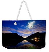 Rollinsville Yacht Club Fireworks Private Show 52 Weekender Tote Bag