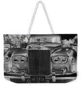 Rolls Royce Grill Weekender Tote Bag