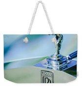 Rolls-royce Hood Ornament -782c Weekender Tote Bag