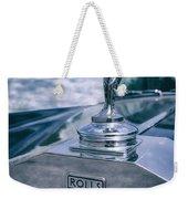 Rolls Royce Mascot Weekender Tote Bag