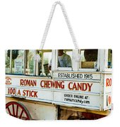 Roman Chewing Candy Nola Weekender Tote Bag