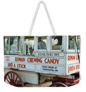 Roman Chewing Candy Wagon In New Orleans Weekender Tote Bag