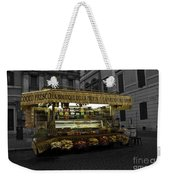 Roman Confectionary Cart Weekender Tote Bag