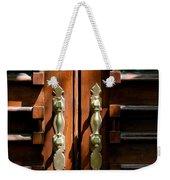 Roman Doors Weekender Tote Bag