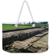 Roman Fort Ruins, England Weekender Tote Bag