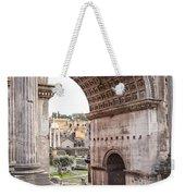 Roman Forum Arch Weekender Tote Bag