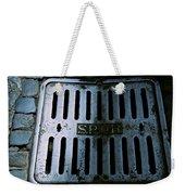 Roman Manhole Cover Weekender Tote Bag