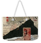 Roman Map Collage Weekender Tote Bag