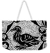 Roman Mosaic Bird Weekender Tote Bag by Mair Hunt