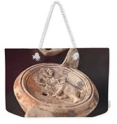 Roman Oil Lamp Weekender Tote Bag by Sophie McAulay