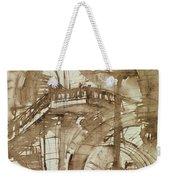 Roman Prison Weekender Tote Bag by Giovanni Battista Piranesi