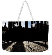 Roman Temple Silhouette Weekender Tote Bag
