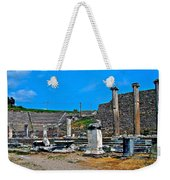 Roman Theatre In Pergamum-turkey  Weekender Tote Bag