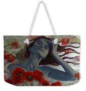 Romance Echo Weekender Tote Bag by Dorina  Costras