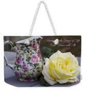 Romance Is The Dance Of Life Weekender Tote Bag